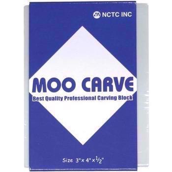 Moo Carving Block - 3x4""