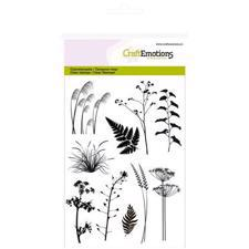 CraftEmotions Clear Stamp Set - Branches