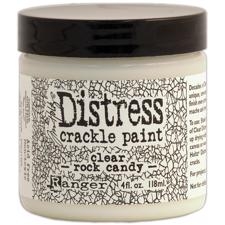 Crackle Paint - Rock Candy (klar) - LARGE (4 oz)