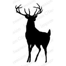 IO Stamps Cling Stamp - Buck (hjort)