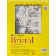 Strathmore Bristol SMOOTH Paper Pad 9x12""