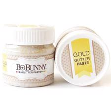 Bo Bunny Glitter Paste - Gold