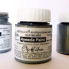 13@rts Ayeeda Paint - Metallic / Old Silver