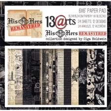"13@rts Paper Pack 6x6"" - His & Hers Remastered"