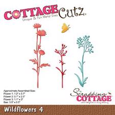Cottage Cutz  Die - Wildflowers 4
