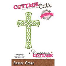 Cottage Cutz  Die - Kors / Easter Cross