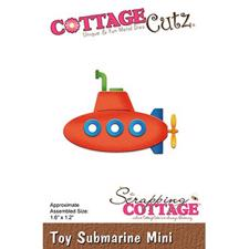 Cottage Cutz  Die - Toy Submarine Mini