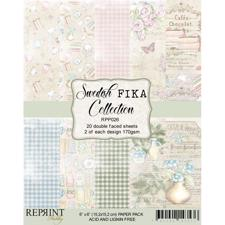 "RePrint Scrapbooking Paper pack 6x6"" - Swedish Fika"