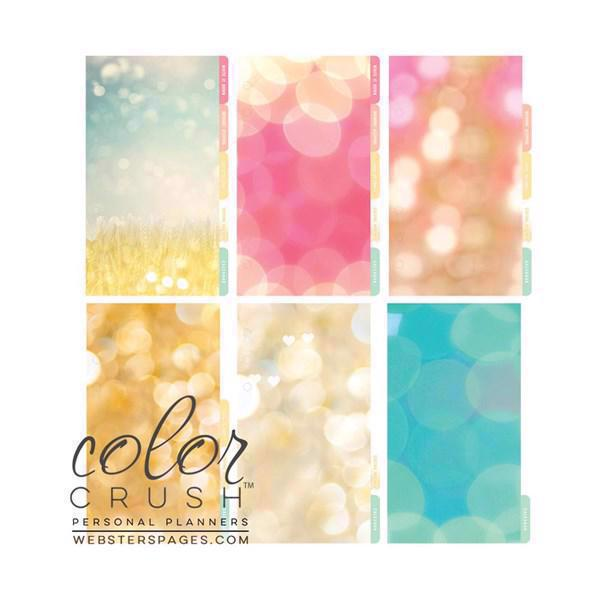 Webster\'s Pages - Color Crush Divider Set (faneblade) / Today is a Great Day