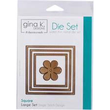 Gina K Die Set - Square / Large Set