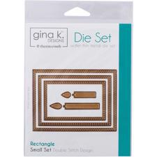 Gina K Die Set - Rectangle / Small Set