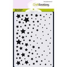 Craftemotions Mask Stencil - Starry Sky (A6)