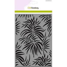 CraftEmotions Mask A5 Stencil - Background Leaves Tropics