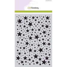 CraftEmotions Mask A5 Stencil - Stars