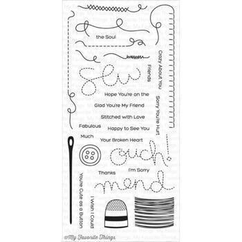 My Favourite Things Stamp Set - Miss Tiina Stitched With Love