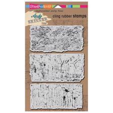 Stampendous Cling Stamp Set - Andy Skinner / Industrial