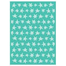 "Cuttlebug Embossing Folder 5x7"" - Star Blanket"