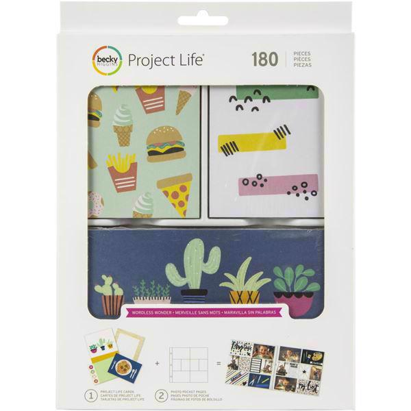 Project Life Value Kit - Wordless Wonder