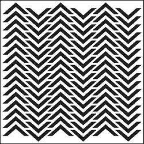 "Template 12x12"" - Chevron"