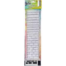 "Dylusion Clear Stamp & Stencil Set - 12"" Brickwork (stor)"