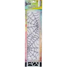 "Dylusion Clear Stamp & Stencil Set - 12"" Cobweb (stor)"