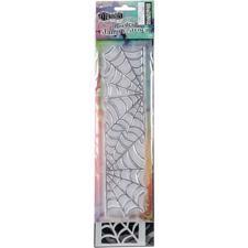 "Dylusion Clear Stamp & Stencil Set - 9"" Cobweb (lille)"