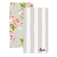 Webster's PagesTravelers' Notebooks - Love Stripe & Floral