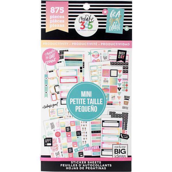 Happy Planner - Happy Planner / Sticker Value Pack - MINI Productivity
