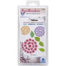 Spellbinders Shapeabilities - Bitty Blossoms