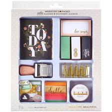 Webster's Pages - Color Crush Planner & Stationery Accents Kit / Hello Today