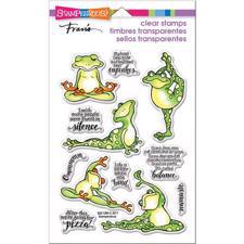 Stampendous Clear Stamp Set - Frog Yoga