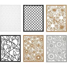 Blondekarton / Cardboard Lace Patterns - Neutrale Farver