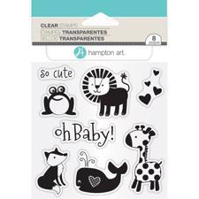Hampton Art Clear Stamp Set - Oh Baby!