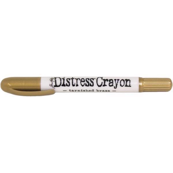 Distress Crayons - Tarnished Brass (guld)