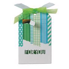 i-Crafter Die - Zip Gift Tag