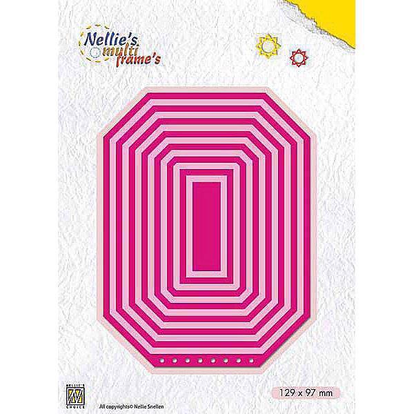 Nellie Snellen Multi Frame Die - Booklet: Rectangle
