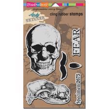 Stampendous Cling Stamp Set - Andy Skinner / Skuldoggery
