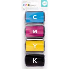 CMYK Ink Pad Set