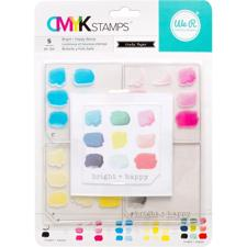 CMYK Stamp Set - Bright + Happy