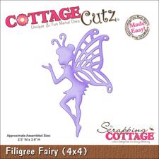 Cottage Cutz  Die -  Filigree Fairy