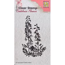 Nellie Snellen Clearstamp - Concolence Flowers 5