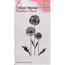 Nellie Snellen Clearstamp - Concolence Flowers 6