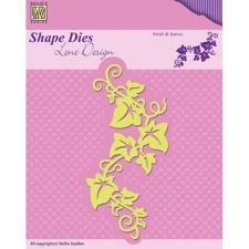 Nellie Snellen Dies - Lene Design / Swirl & Leaves