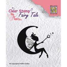 Nellie Snellen Clearstamp - Fairy Tales 2 (moon)