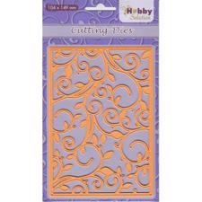 Nellie Snellen Hobby Solution Die - Background Flourish