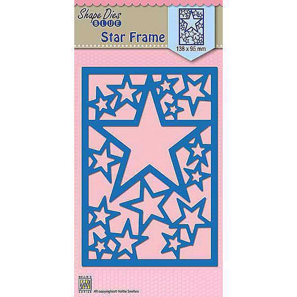 Nellie Snellen Shape Die BLUE - Star Frame