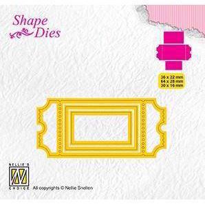 Nellie Snellen Shape Die - Ticket-1