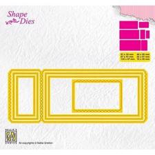 Nellie Snellen Shape Die - Ticket-3 (mini album)