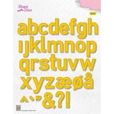 Nellie Snellen Shape Die - Large Alphabet