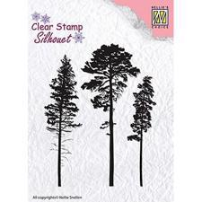 Nellie Snellen Clearstamp - 3 Pines